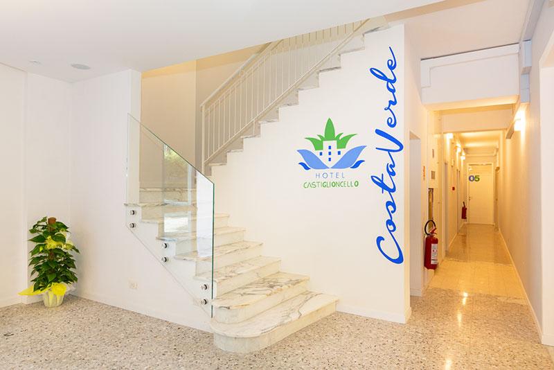 Hall di ricevimento, Hotel Costa Verde Castiglioncello